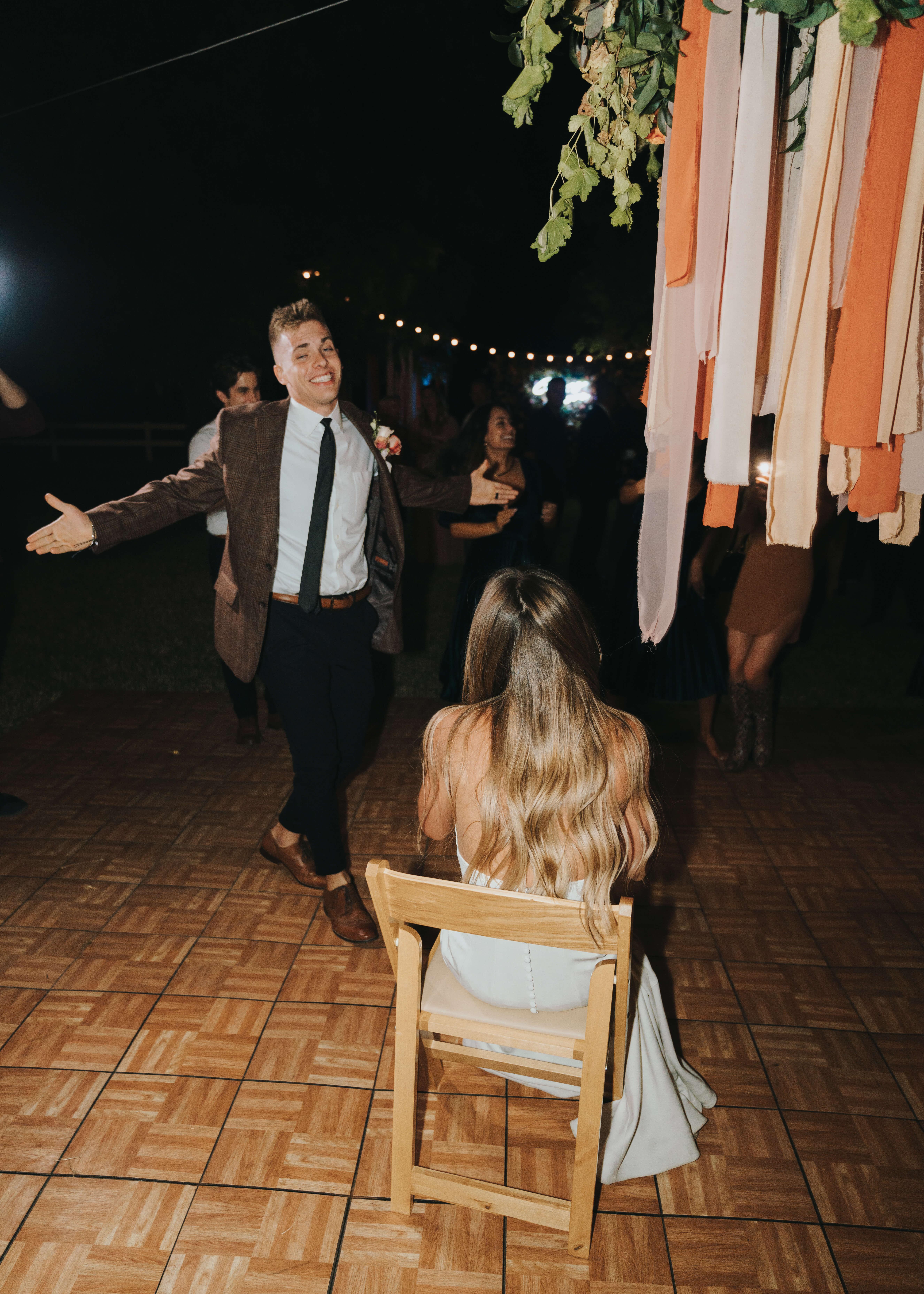 groom being cute photo