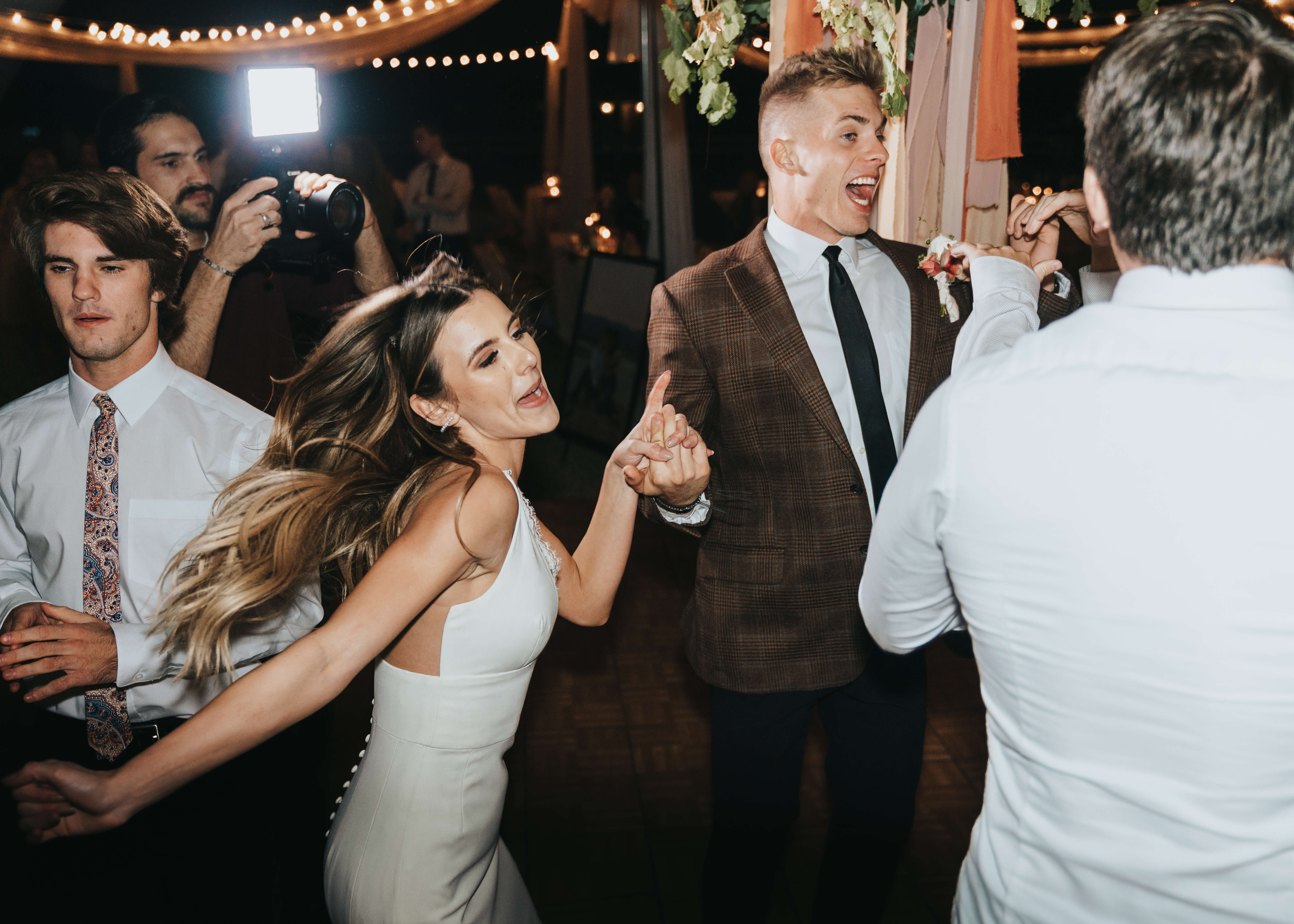 holding hands dancing photo