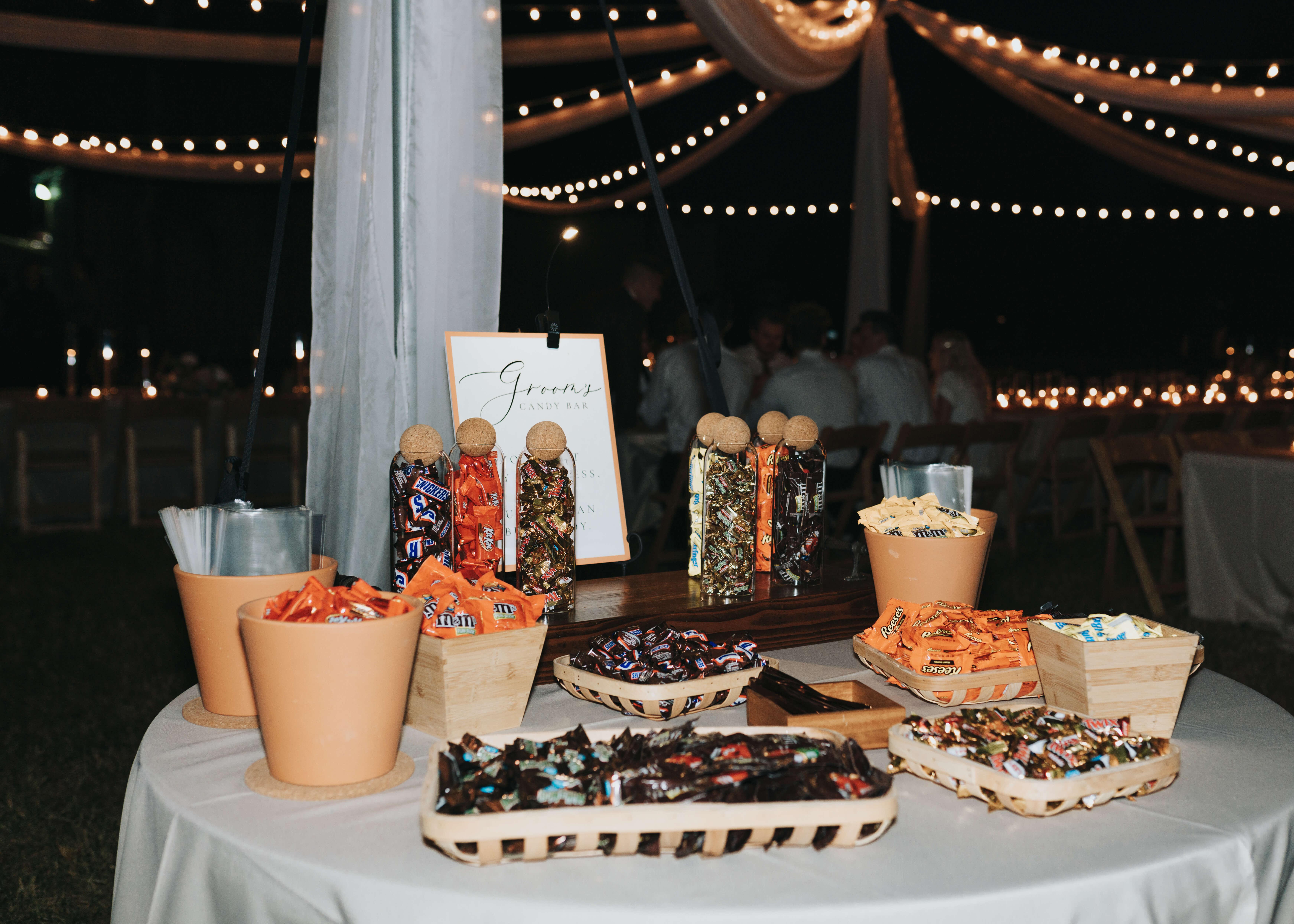 wedding treat table idea