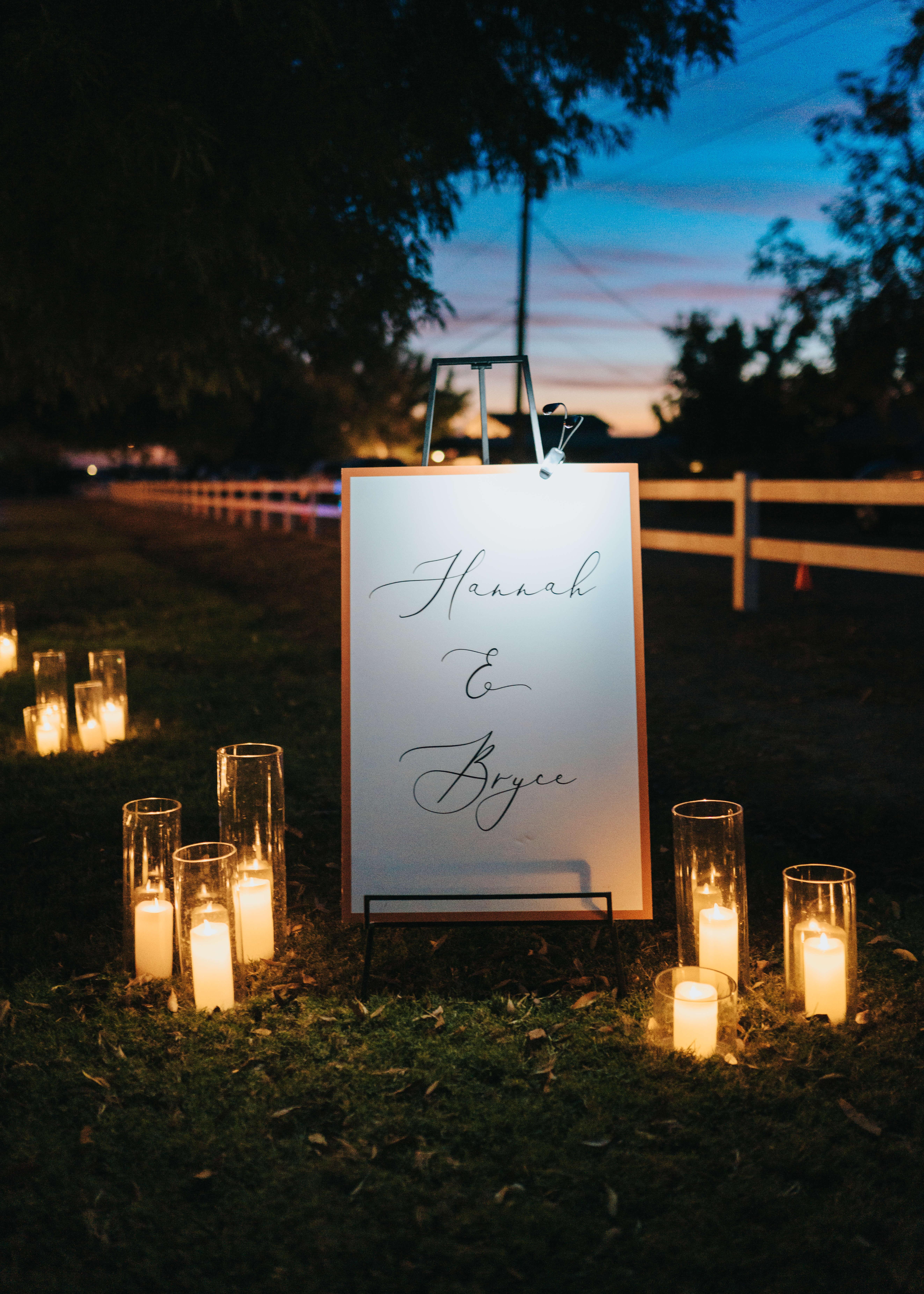 wedding sign photo